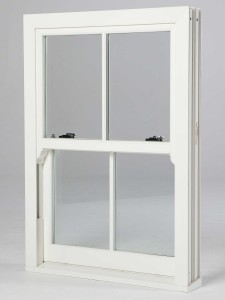 White Vertical Sliding Sash Windows, Waterlooville